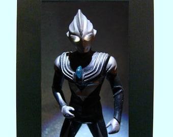 "Framed Japanese Ultraman Toy Photograph 4x6"""