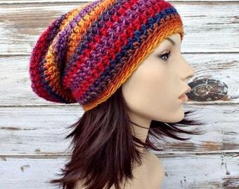 Instant Download Crochet Pattern - Crochet Hat Pattern for Leighton Slouchy Beanie Pattern - Womens Hat Pattern Womens Accessories