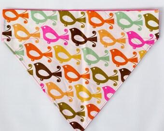 cute dog bandana,fun dog bandana,Large reversible dog bandana,custom bandana,dog accessories, dog collar, dog scarf, slip on dog bandana