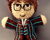 Doctor Who (David Tennant) Amigurumi Plush Doll