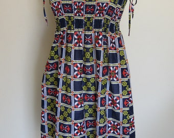 Shirred Top Dress