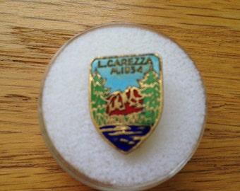 Vintage Italian Alps L. Carezza Hat or Lapel Pin