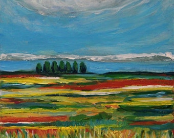From A Distance - Original Landscape Painting
