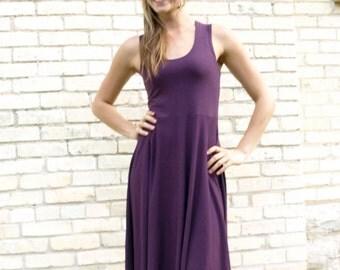 Savannah ~ Summer Racer Back Dress ~ Bamboo & Organic Cotten ~ Made to Order
