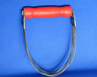 Androck Pastry Blender with Red Handle - Vintage Kitchen Tool