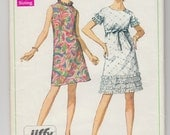 """Vintage Sewing Pattern 1960's Simplicity 7626 Ladies' A-line Dress 38"""" Bust - Free Pattern Grading E-book Included"""