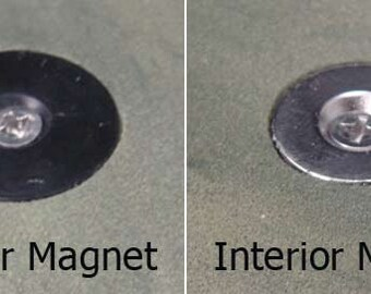 4 Exterior Magnets