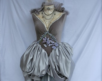 Victorian Mannequin w/attached Opera Gown