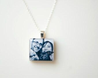 5th Anniversary Gift - Wood Anniversary Gift - Wedding Gift - Fifth Anniversary Gift - Wedding Picture Photo Gift - Wooden Anniversary