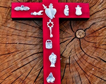 Woman's Blessing Milagro Cross