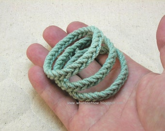 Herringbone Band of Courage rope bracelet Dysautonomia Advocacy Foundation