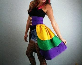 Mardi Gras Bustle, Mardi Gras Costume, Women's Costume, Carnival Costume, Carnival Bustle