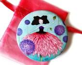 Bloom - Pocket Mirror