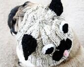 Pug Hat for Dogs - Dog Hat - Dog Costume - Dog Clothing - Pug Costume