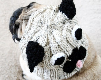 Pug Hat for Dogs