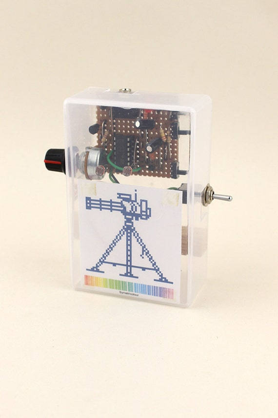 Sentry Gun - Automatic Optical Theremin Musical Instrument
