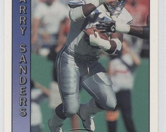 1991 Pacific Football BARRY SANDERS Card in MINT Condition