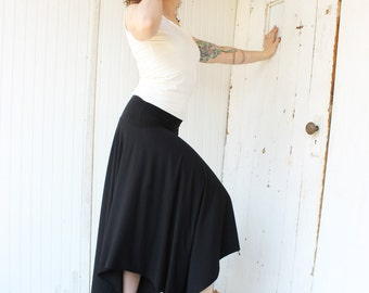 Belladona Circle Skirt - Organic Cotton Blend - Made to Order - Choose Your Color