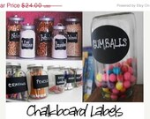 Chalkboard Labels  Organize and Personalize with Chalk Labels   - 36 Labels - Rectangle, Fancy, and Oval FREE SHIPPI