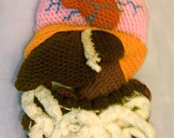Crochet Plush Organs of the Torso