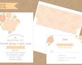 SAMPLE - Floral Bouquet Invitation Collection