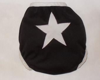 Star butt PUL diaper cover