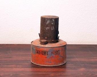 Vintage Auto Motor Heater by Bunsen Co. Denver Colorado