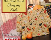 The Time to Go Shopping Sack (Instant Download) The Go Fish Series