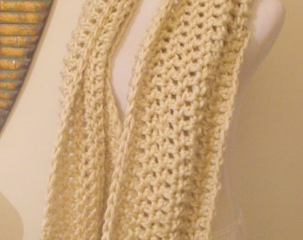 Colossal Winter Cowl - CHOOSE YOUR COLOR - Pictured is in Natural Tan/Cream/Off White