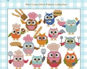 Hootie Chefs Collection Cross Stitch PDF Chart