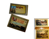 Vintage Gettysburg Postcard Booklet and Fold Out Images.  Circa 1930s. C.A. Blocher Publisher.
