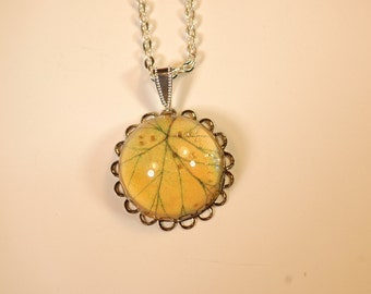 Fall Leaf Necklace