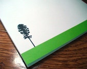 Personalized Note Pad, Longleaf Pine Notepad, Personalized Teacher Gift, Pine Tree Custom Notepads