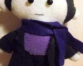 The Precaution of a Good Coat Sherlock Doll
