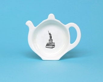 Statue of Liberty Tea Bag Tidy