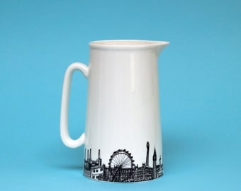 London Skyline Jug, 2 Pints