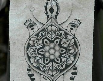 Turtle Hemp/Organic Cotton Patch