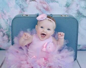 Baby Girls Birthday Tutu Dress Outfit, Christmas Toys, Frosted Peony Tutu Dress for Baby Girls Birthday Tutus