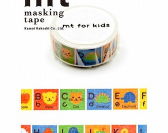 Colored Pencil / Border - Japanese Washi Masking Tape - mt ex - Scrapbooking, Collage, Gift Wrapping -  MTEX1P78