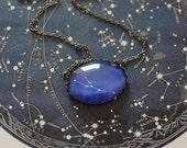 Taurus Zodiac Necklace. Taurus Constellation Necklace. Taurus Necklace. Zodiac Sign Necklace. Zodiac Jewelry. Horoscope Necklace. Astronomy.