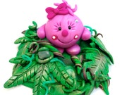 Jungle Lolly - Polymer Clay Character StoryBook Scene
