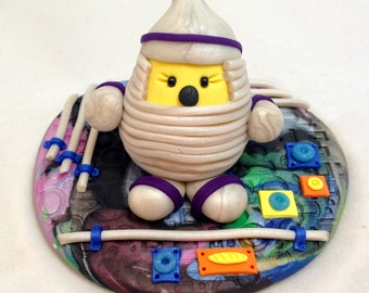 Parker Spaceman - Polymer Clay Character StoryBook Scene