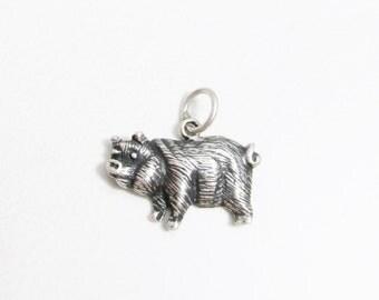 Vintage Charm: Sterling Pig