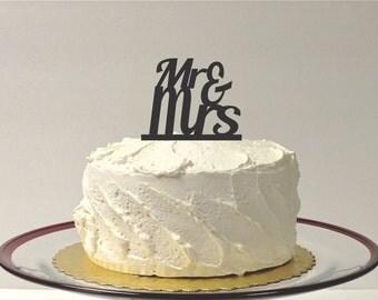 Mr and Mrs Wedding Cake Topper Acrylic Wedding Topper Classic Wedding Cake Topper Wedding Decoration Keepsake