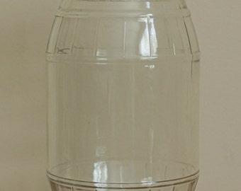 Vintage Barrel Jar