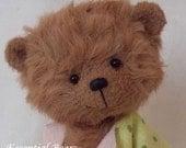 POPPET BROWN an adorable miniature teddy bear