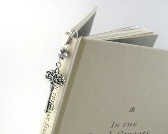 Book Lover Gift Her -Alice in Wonderland Bookmark -Women Teacher Gift Her -Stocking Stuffer For Women -Secret Garden Wedding Guest Book Mark