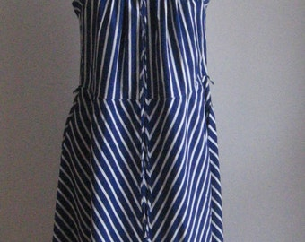 SALE 70s 80s French vintage dress