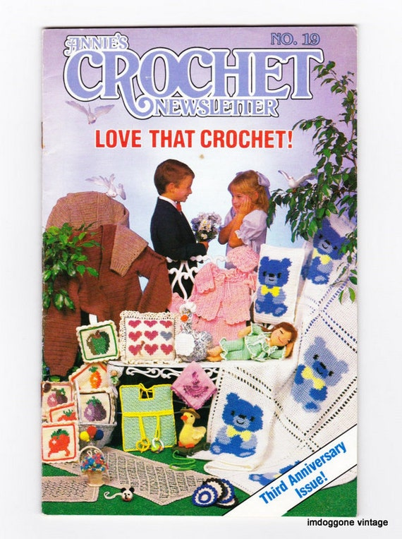 Annies Crochet Newsletter, Pattern Booklet, Number 19, Crochet ...