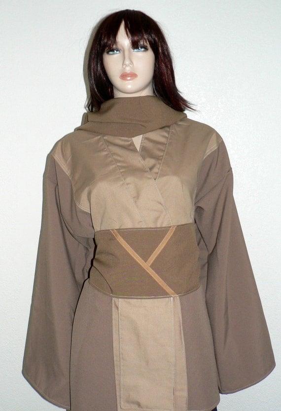 Jedi, Jaina Solo Jedi Tunic, Cosplay,Star Wars, Custom Made Costume